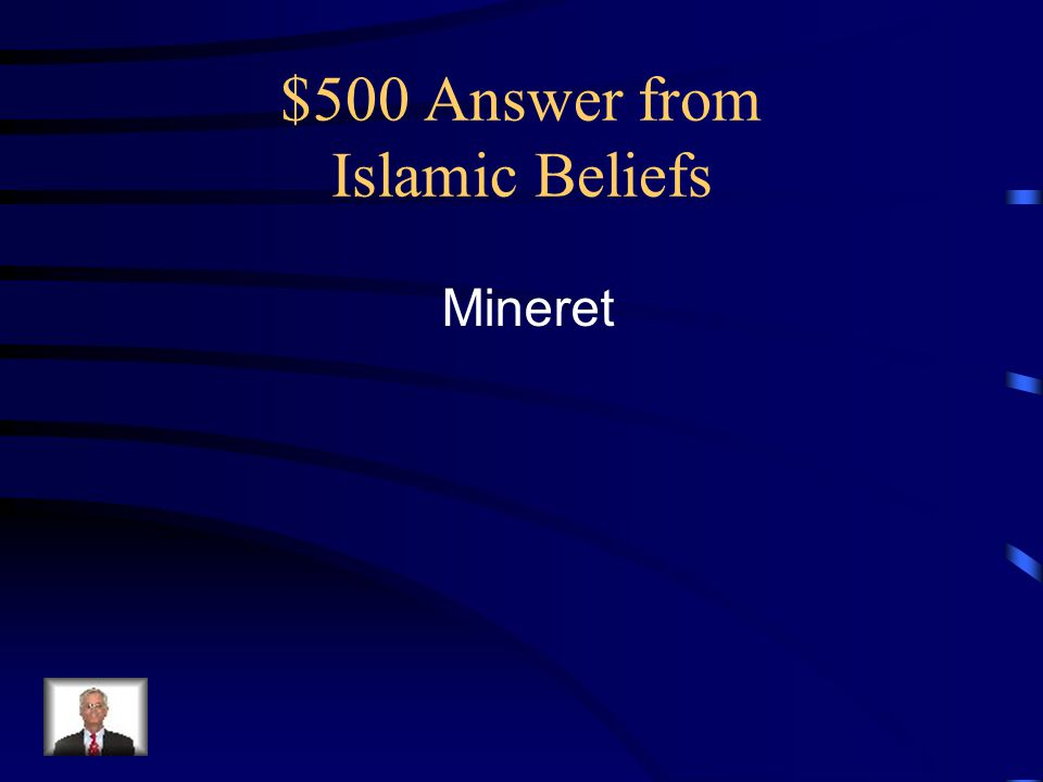 $500 Answer from Islamic Beliefs Mineret