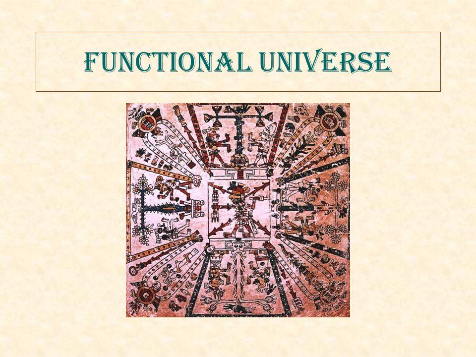 Functional Universe