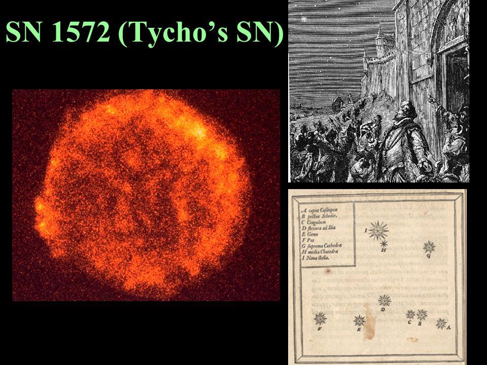 SN 1604 (Kepler's SN)