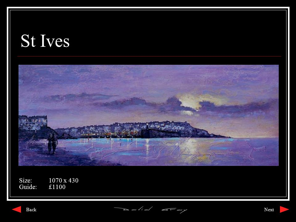 St Ives Size:1070 x 430 Guide:£1100 NextBack
