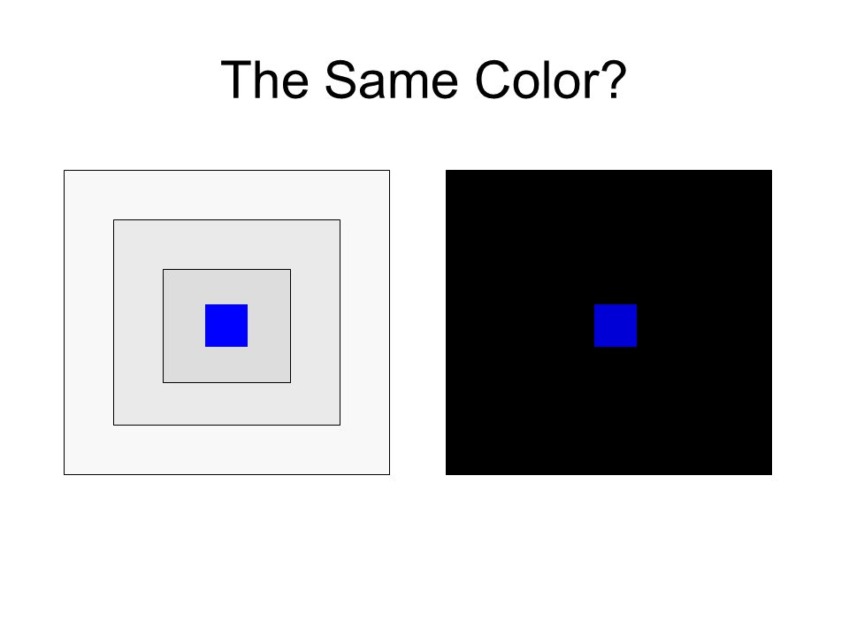 The Same Color