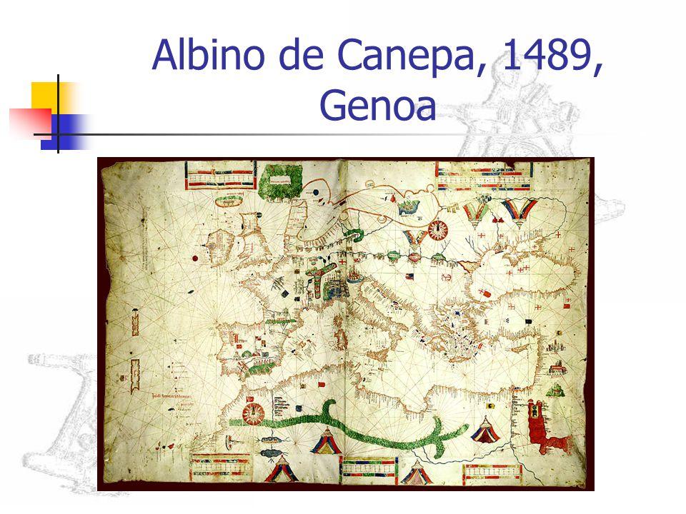 Albino de Canepa, 1489, Genoa