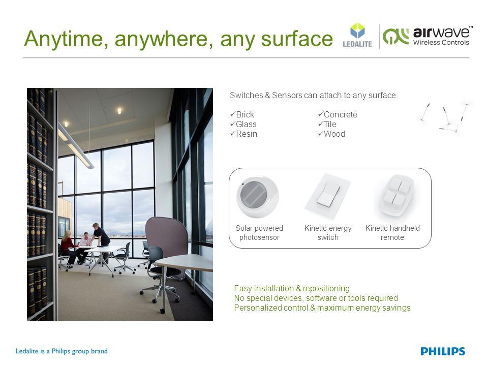 Open office Smart lighting, brilliant results.