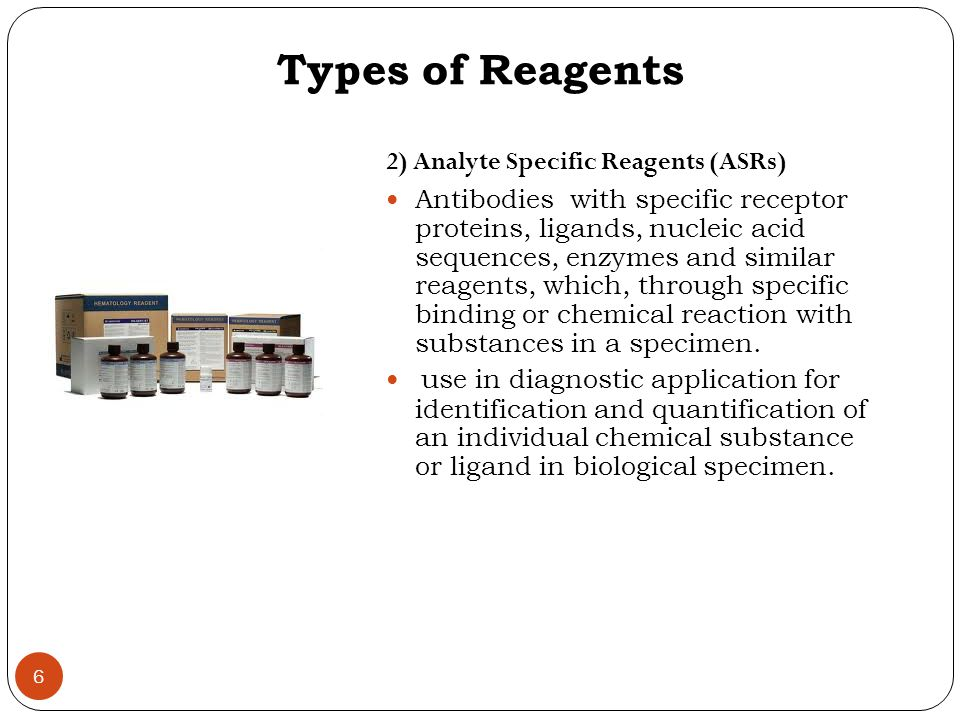 Reagents & Kits Performance Characteristics 1) Measuring Range: range of concentrations within which the assay is accurate and precise 2) Linear Range : concentration range over which intensity of the signal obtained is directly proportional to the analyte producing the signal.