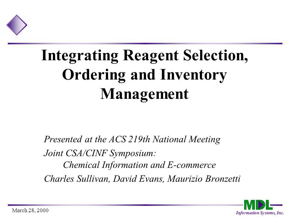 Information Systems, Inc. Evolution