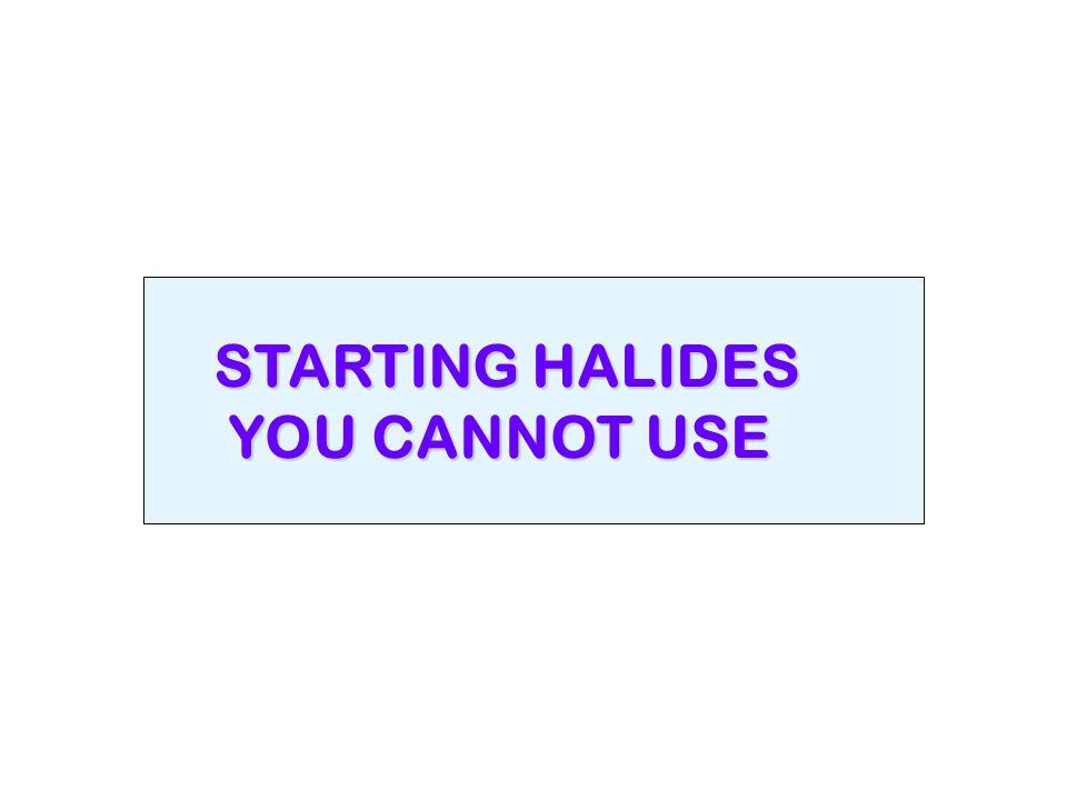 STARTING HALIDES YOU CANNOT USE YOU CANNOT USE
