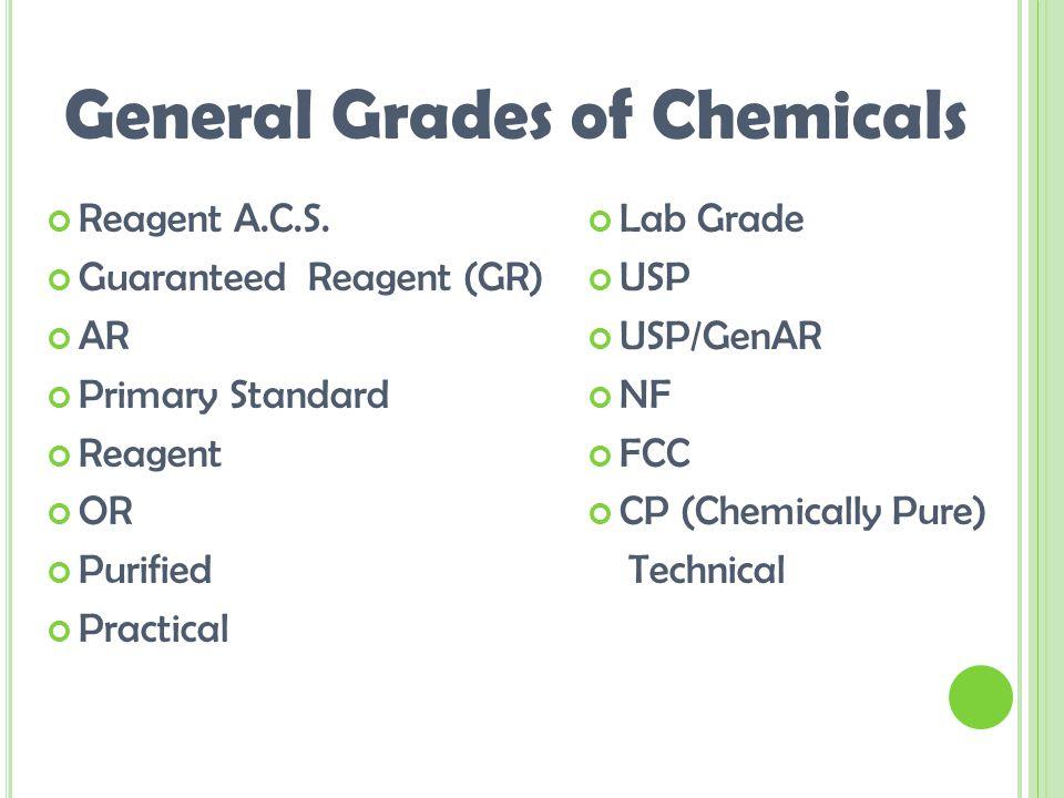 Reagent A.C.S.