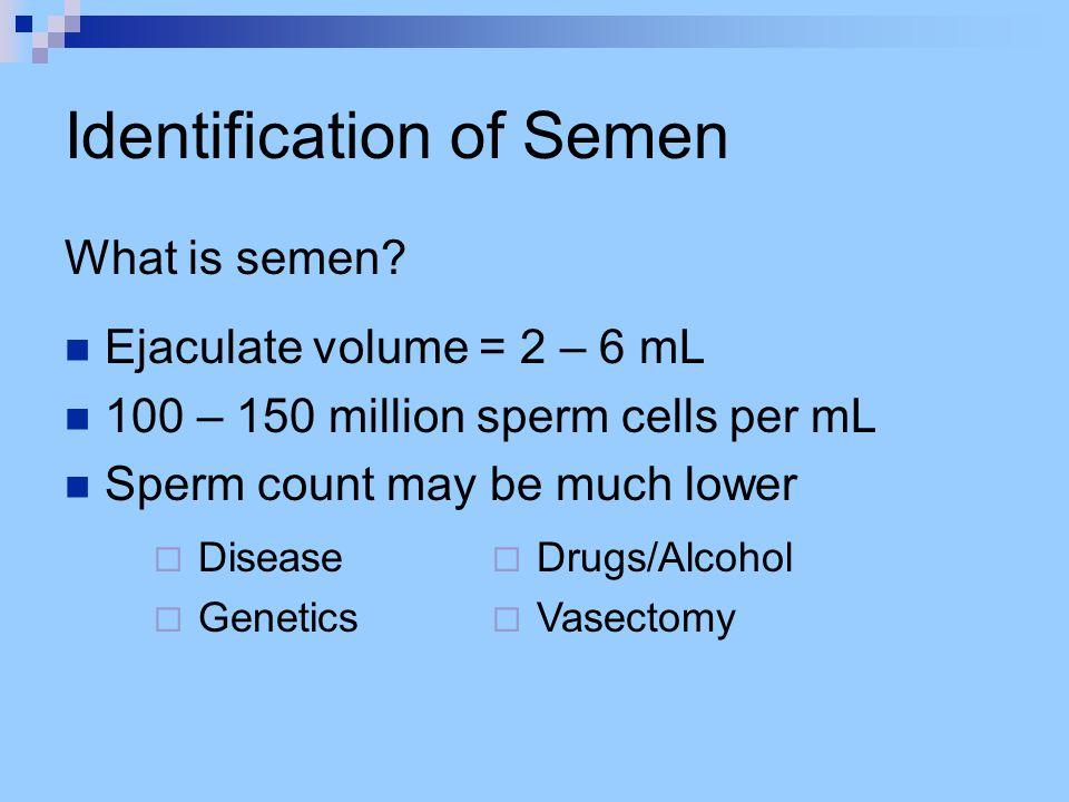 Identification of Saliva How is saliva detected.