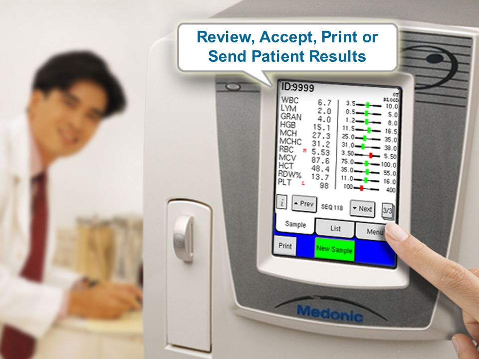 Review, Accept, Print or Send Patient Results