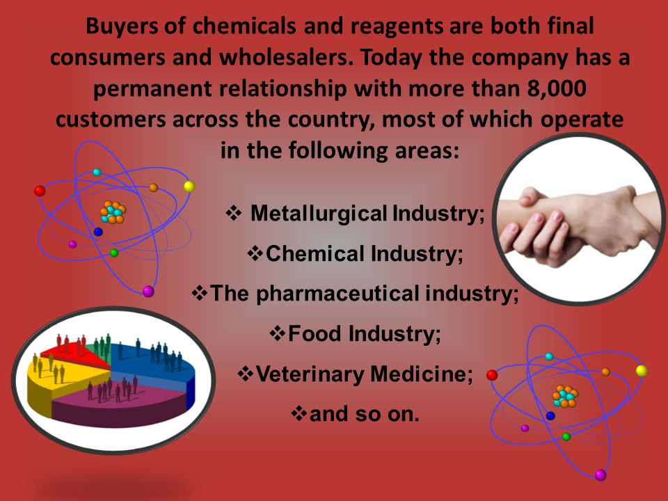 The suppliers of chemical raw materials in Ukrainian Market