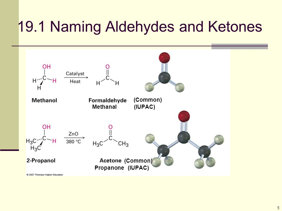 16 Ketones from Ozonolysis Oxidative cleavage of substituted Alkenes with ozone Ketones