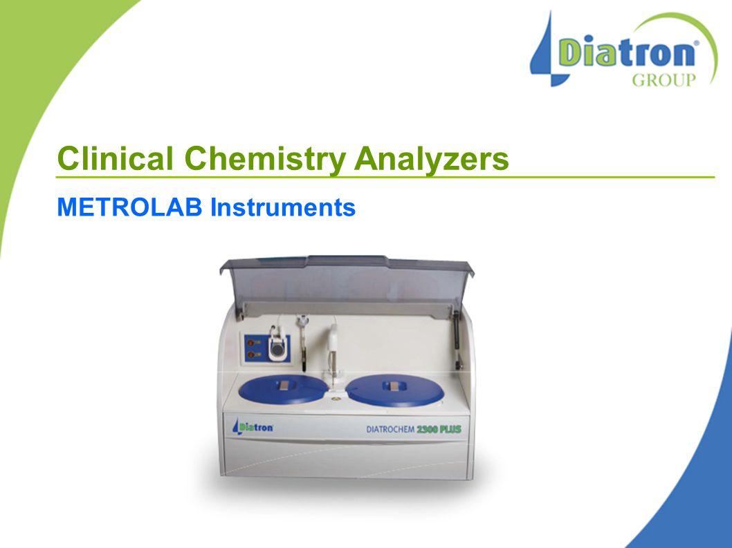 Clinical Chemistry Analyzers METROLAB Instruments
