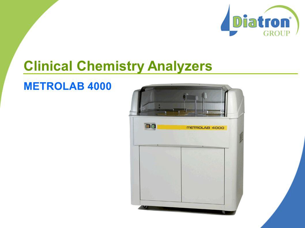 Clinical Chemistry Analyzers METROLAB 4000
