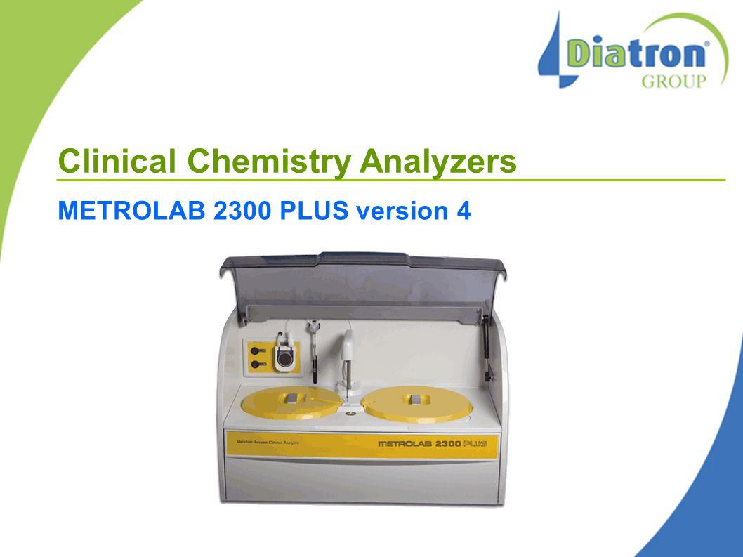 Clinical Chemistry Analyzers METROLAB 2300 PLUS version 4
