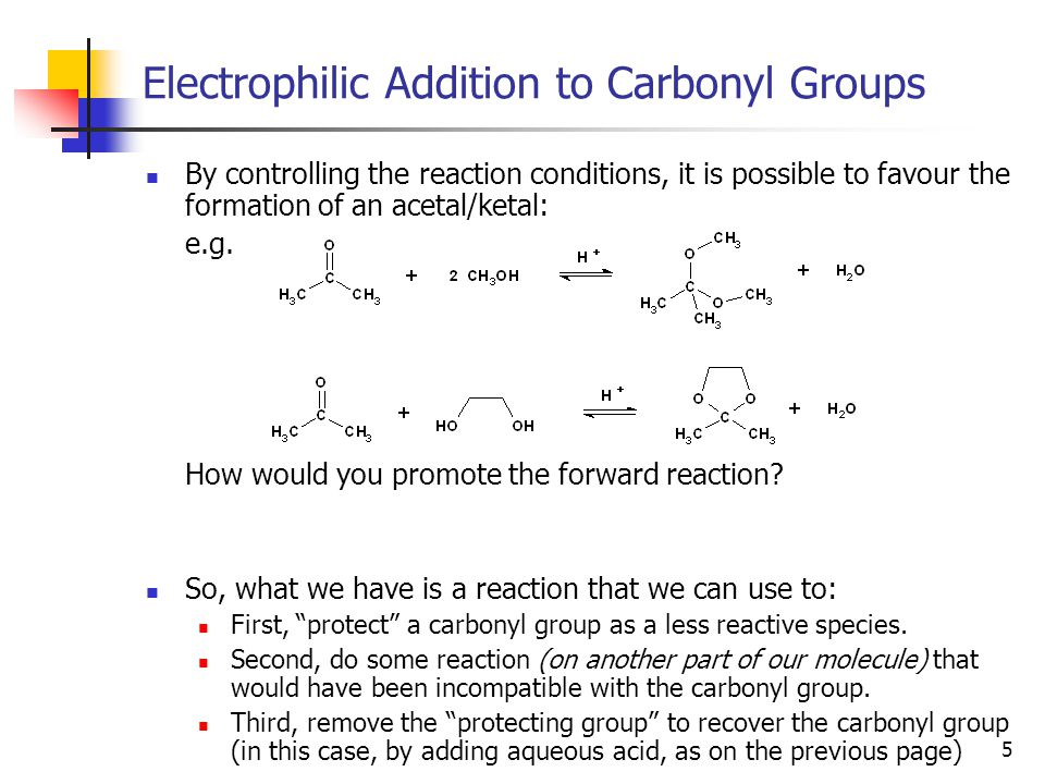 26 Enolates and Aldol Reactions If an aldol reaction is worked up under acidic conditions, an E2 reaction will follow, giving a double bond conjugated to the carbonyl group: There is more thought put into work-up conditions than might immediately be apparent from a lab manual…