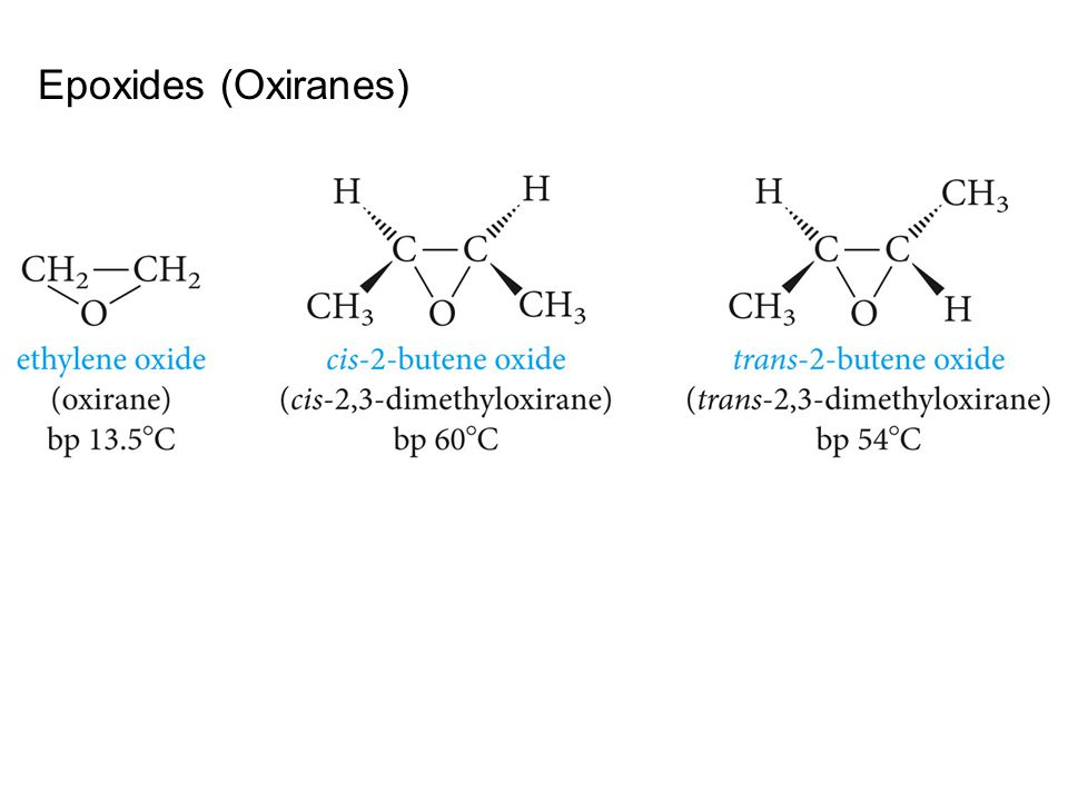 Epoxides (Oxiranes)