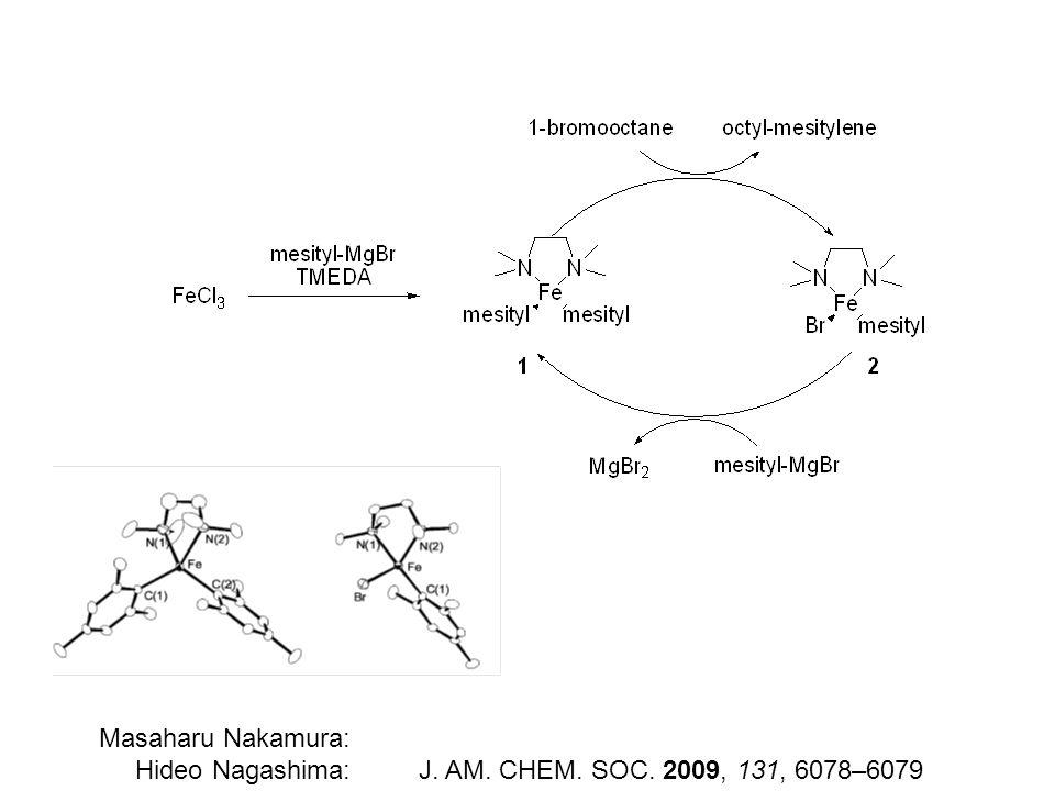 Masaharu Nakamura: Hideo Nagashima: J. AM. CHEM. SOC. 2009, 131, 6078–6079