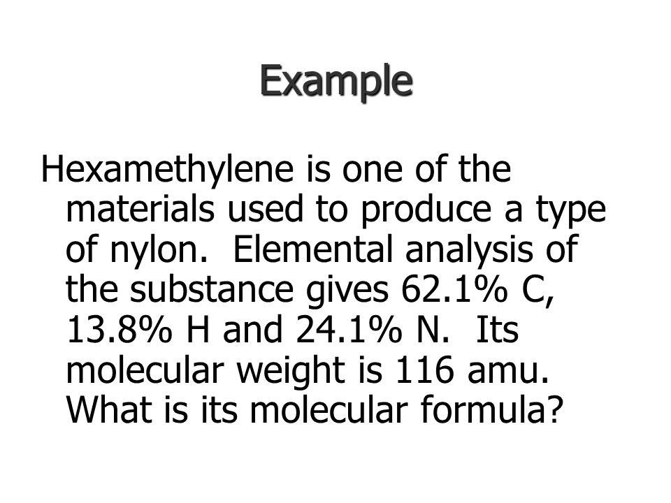 Molecular Formula from Empirical Formula Molecular formula: Molecular formula: Need 2 things to determine MF: Need 2 things to determine MF: Molecular