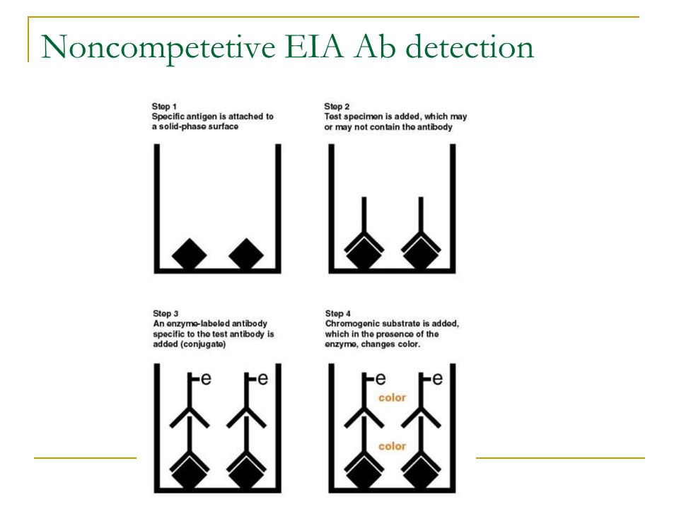 Noncompetetive EIA Ab detection