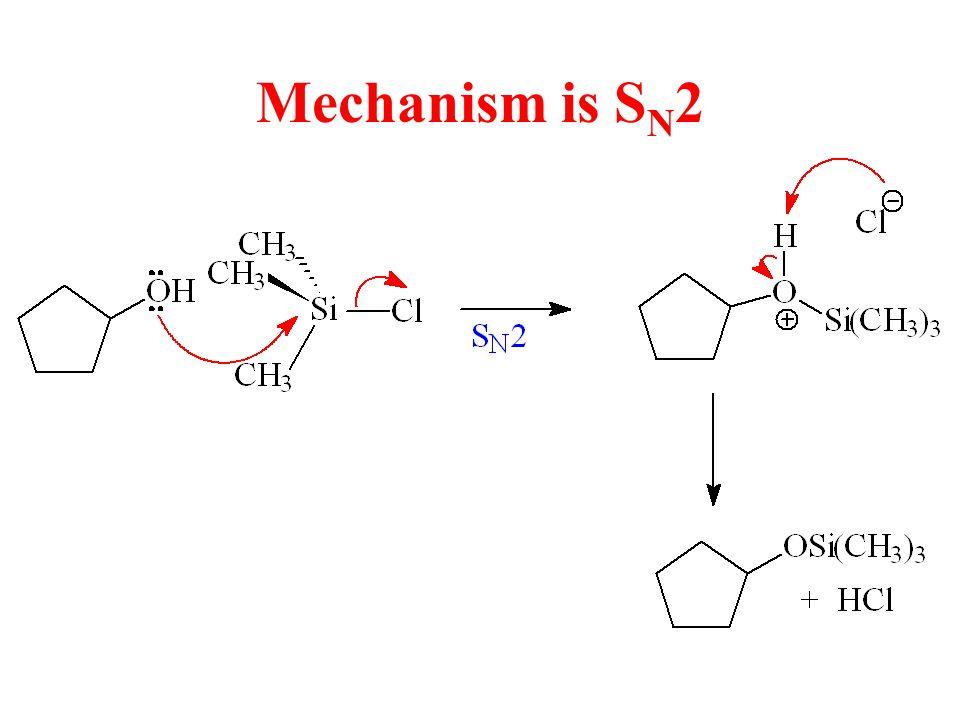Mechanism is S N 2