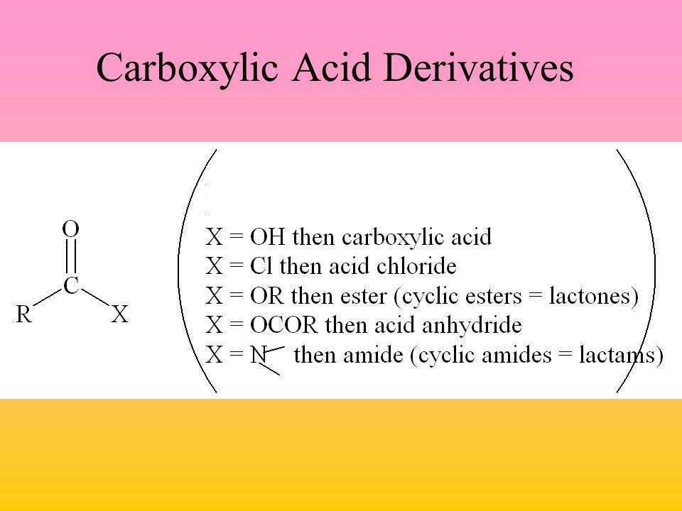 Carboxylic Acid Derivatives