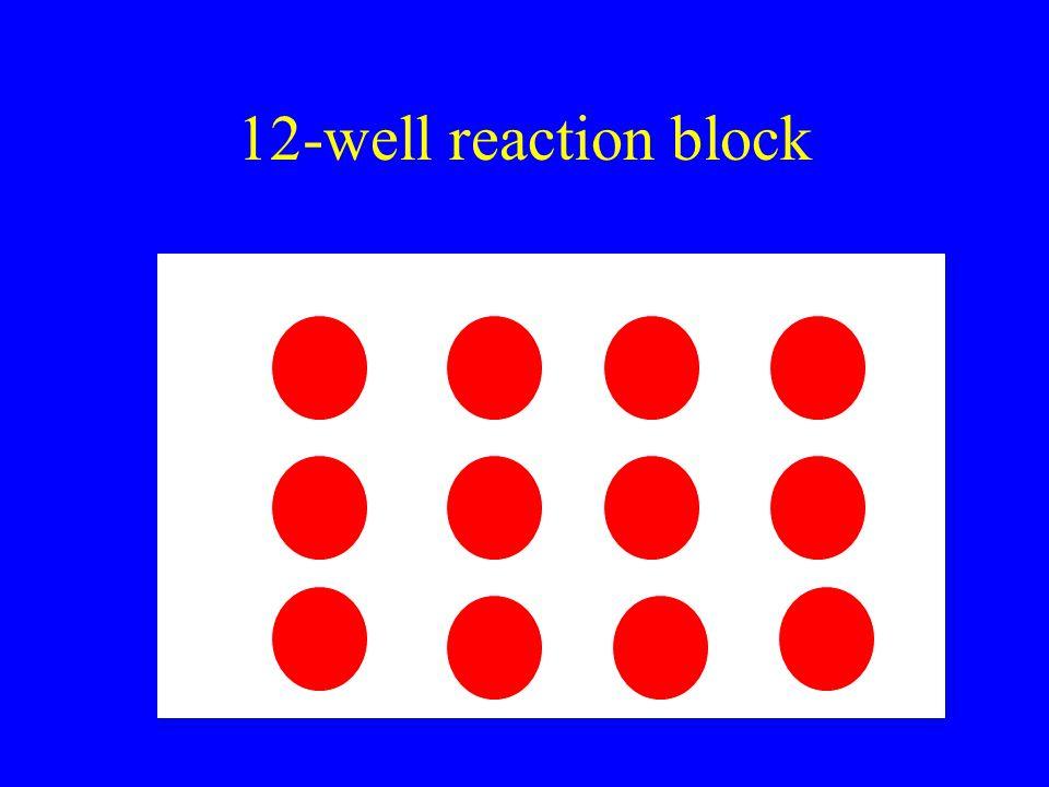 12-well reaction block