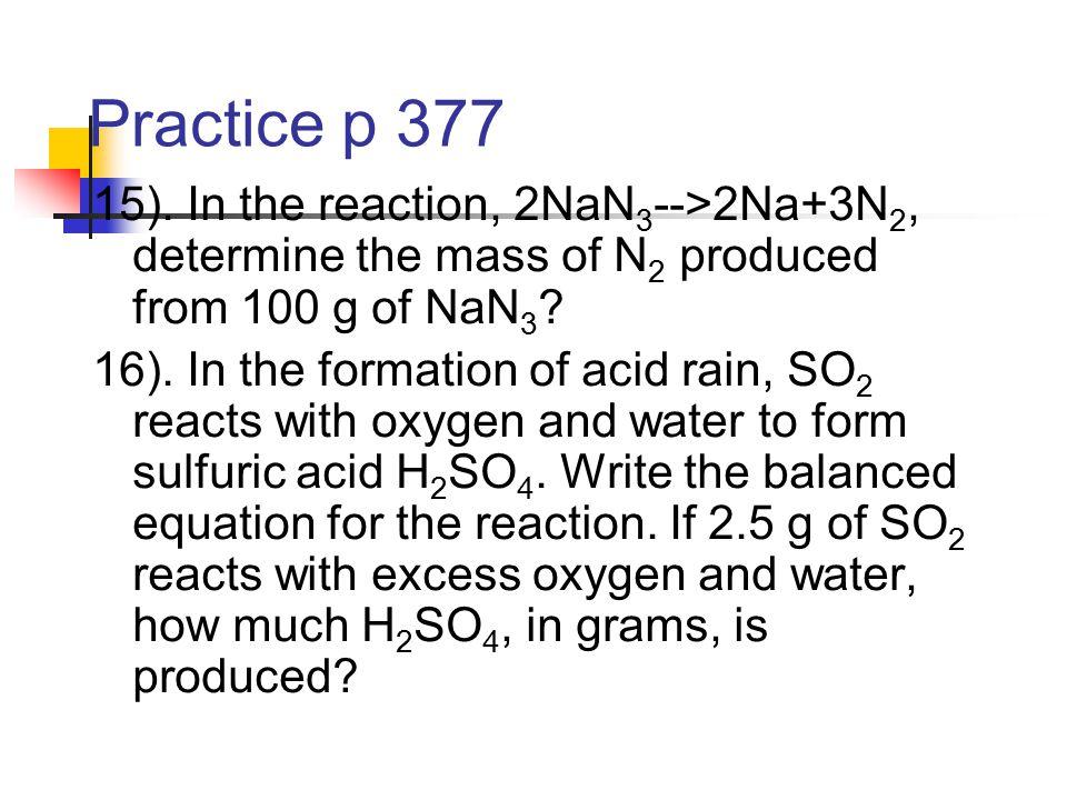 Practice p 377 15).