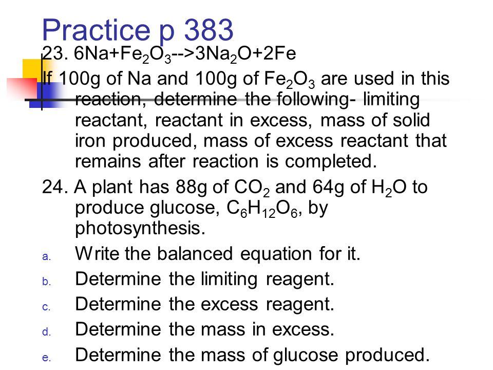Practice p 383 23.