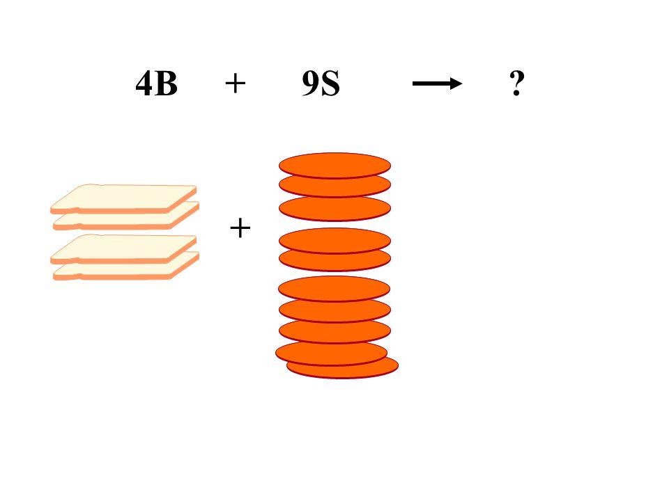 4B + 9S +