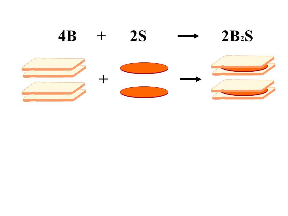 + 4B + 2S2B 2 S