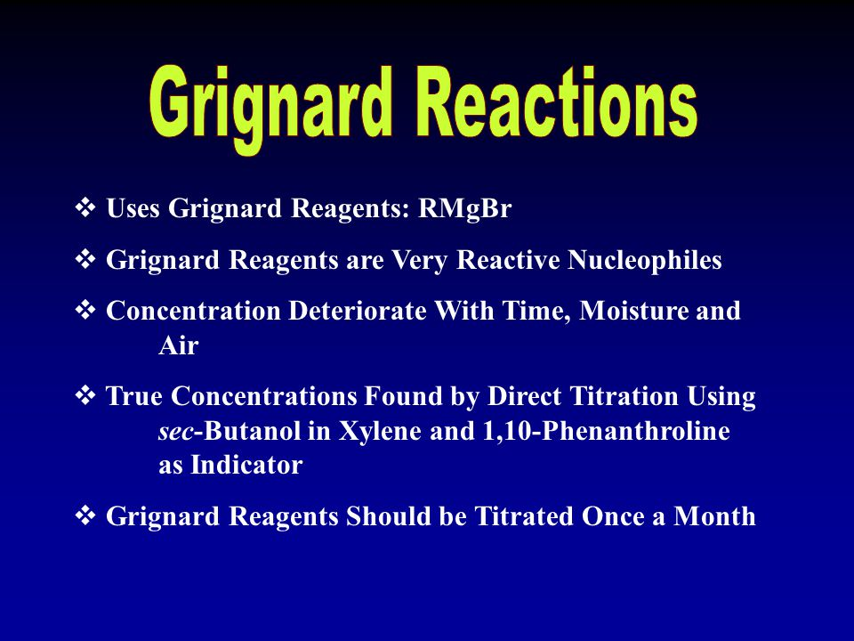 Grignard reagents can add a greater variety of R groups at the angular position Better yields than the respective cyclodehydration route Previous stud