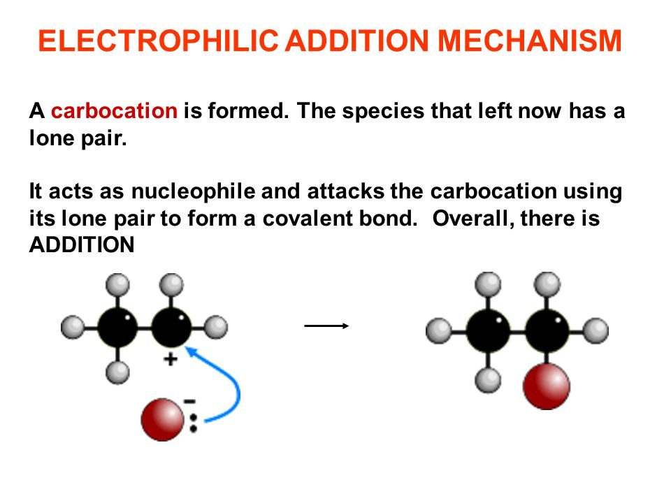 A carbocation is formed. The species that left now has a lone pair. It acts as nucleophile and attacks the carbocation using its lone pair to form a c