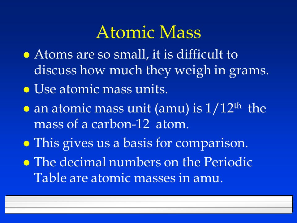 They are not whole numbers l based on averages of atoms & isotopes.