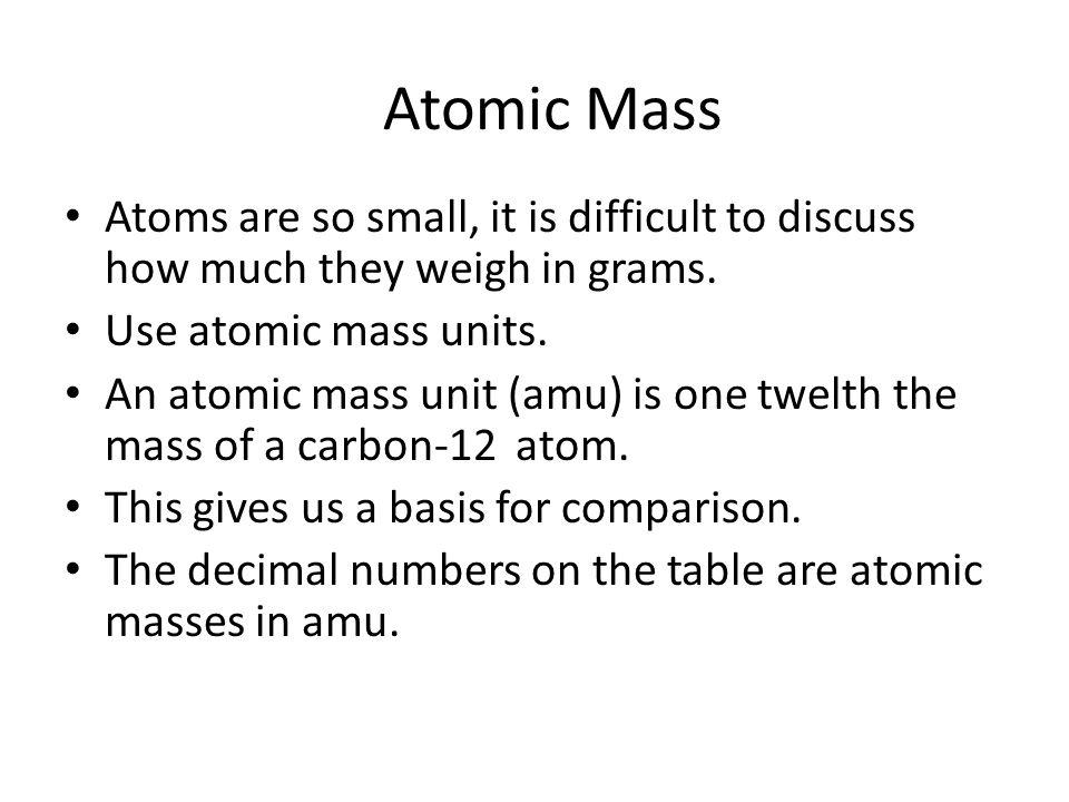 Chemical Mathematics