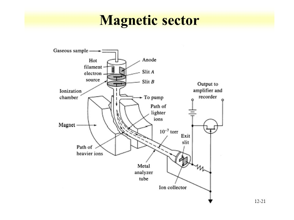 12-21 Magnetic sector