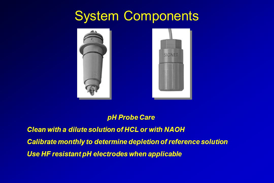 Proportional Control Advantages: More precise pH adjustment control Reduction in reagent costs Avoids set-point overshoots 1234567891011121314 NAOH Pump Speed H 2 SO 4 Pump Speed pH Units