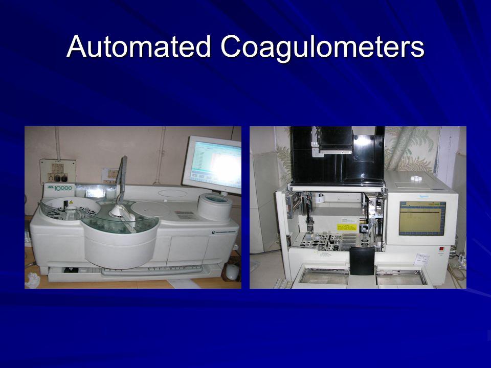 Automated Coagulometers