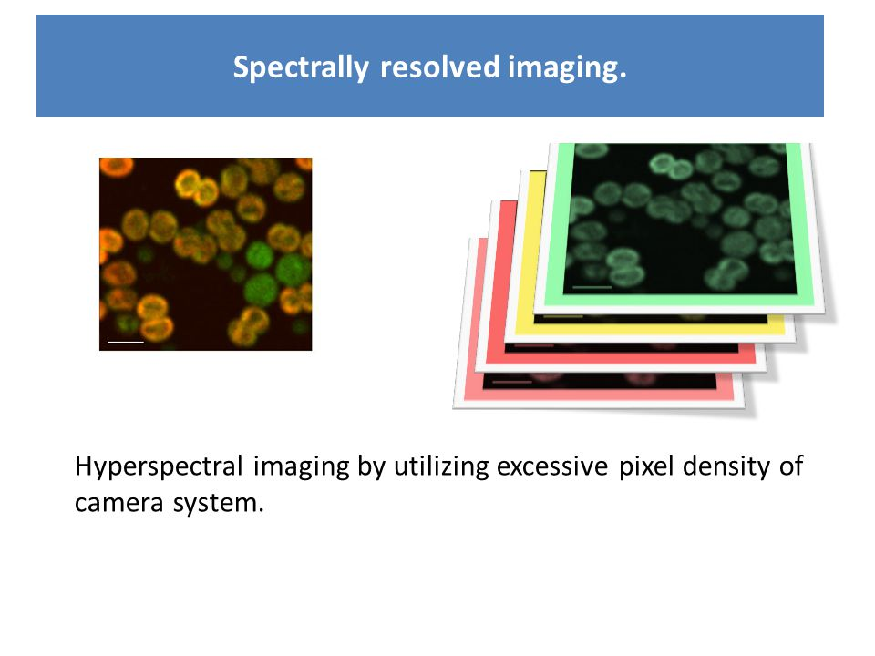Spectrally resolved imaging.
