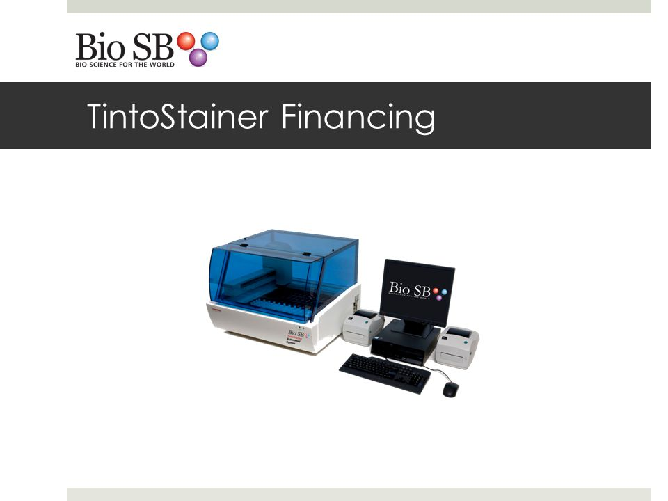 TintoStainer Financing