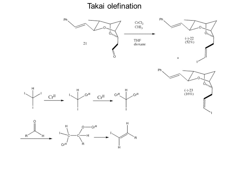 Takai olefination