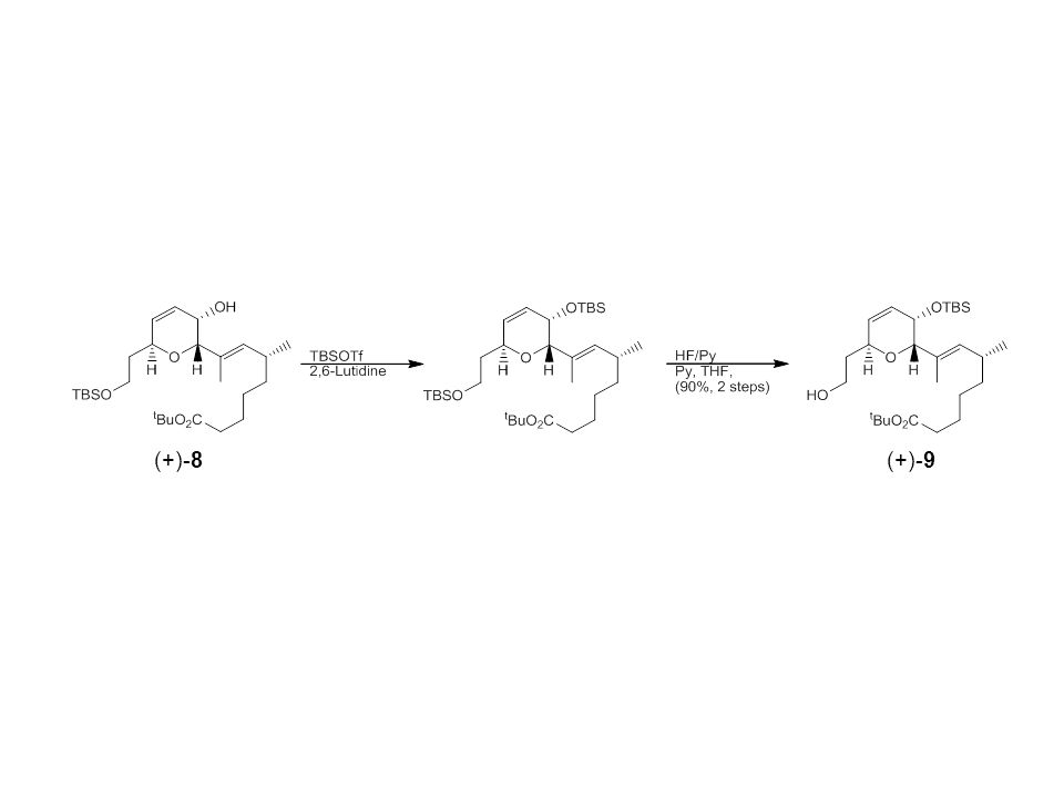 Synthesis of Reagent 3 Swern Oxidation Mechanism DMSO Oxalyl chloride (COCl) 2
