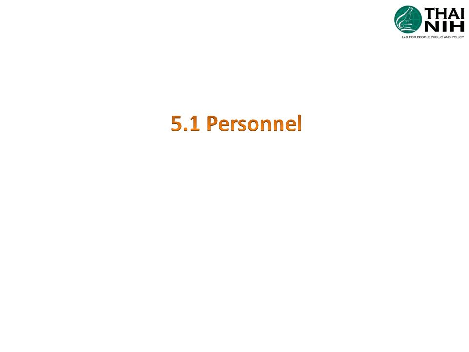 5.1Personnel (Significant editorial) Divide personnel requirements into sections 5.1.1- 5.1.9 5.1.1 General 5.1.2 Personnel qualification 5.1.3 Job description 5.1.4 Personnel introduction to the organizational environment 5.1.5 Training 5.1.6 Competence assessment 5.1.7 Reviews of staff performance 5.1.8 Continuing education and professional development 5.1.9 Personnel records Responsibilities of lab director moved out