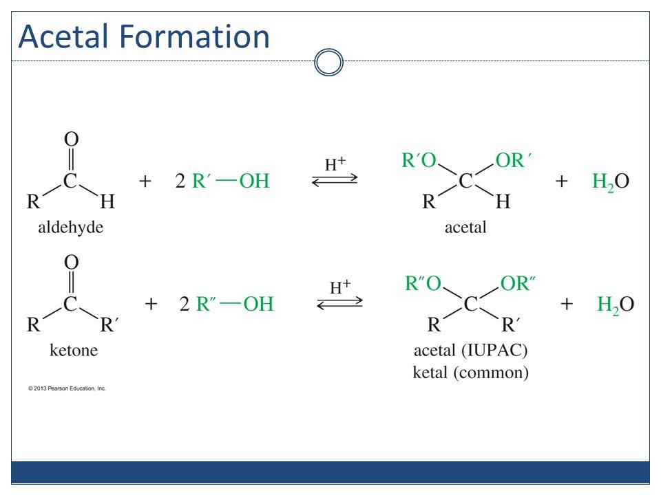 Acetal Formation