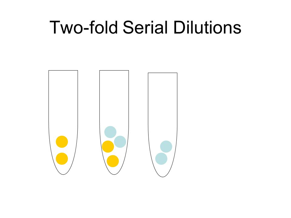 Two-fold Serial Dilutions
