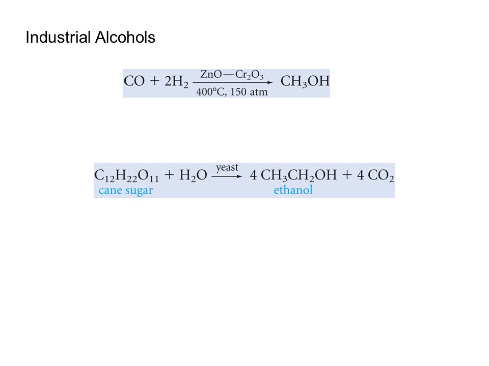 Industrial Alcohols