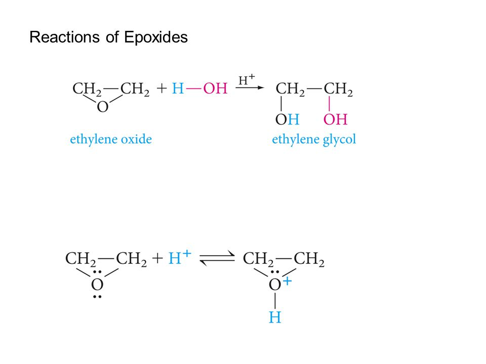 Reactions of Epoxides