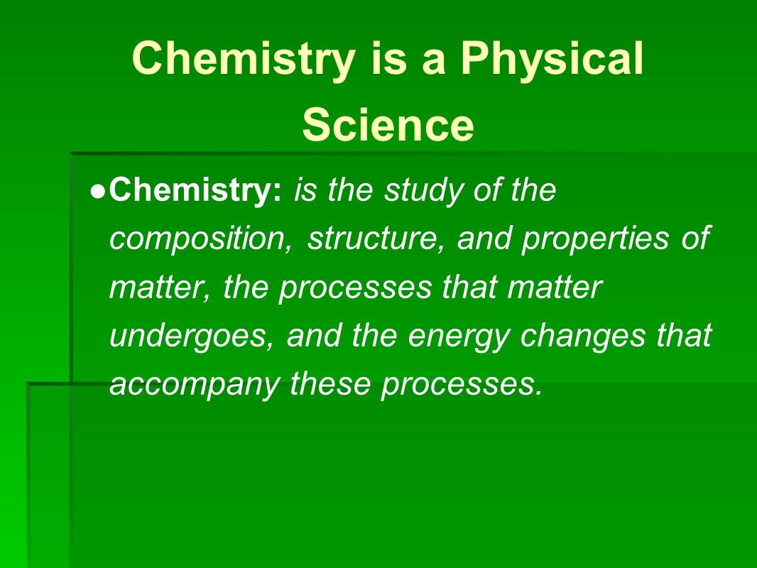 Six Branches of Chemistry ● 1.Organic: studies carbon molecules created by life.