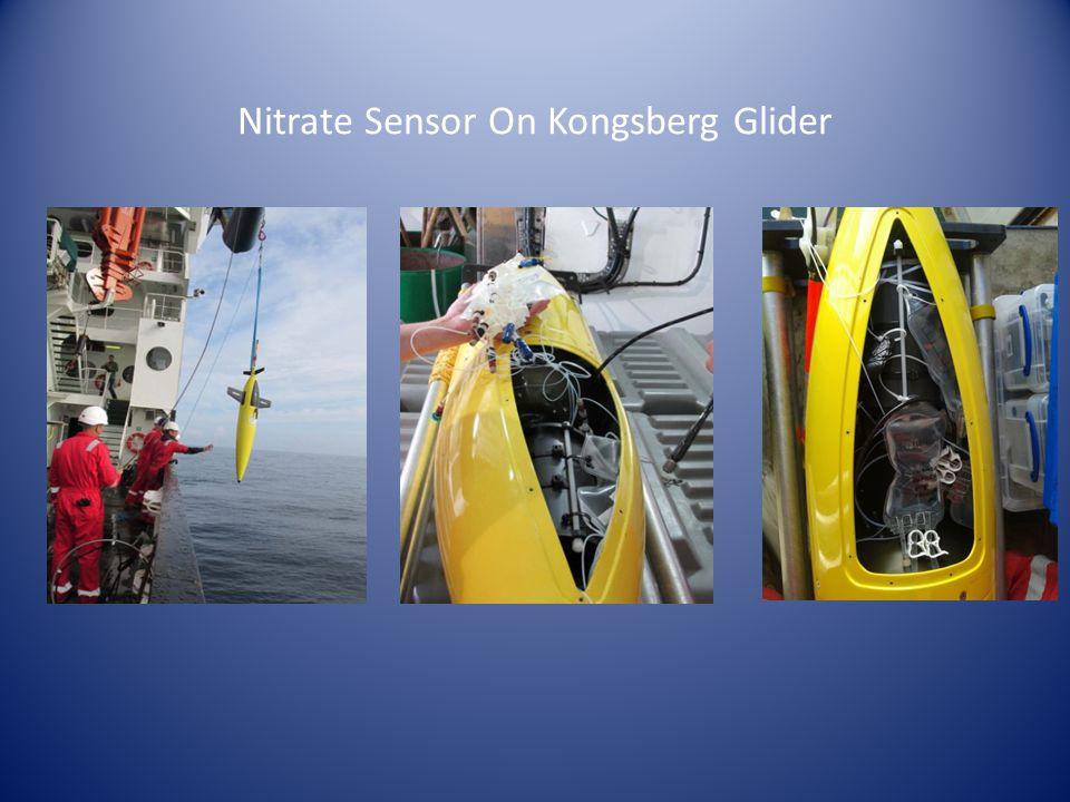 Nitrate Sensor On Kongsberg Glider