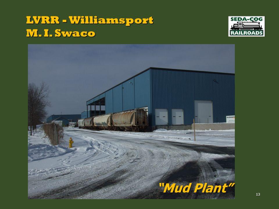LVRR - Williamsport M. I. Swaco Mud Plant 13