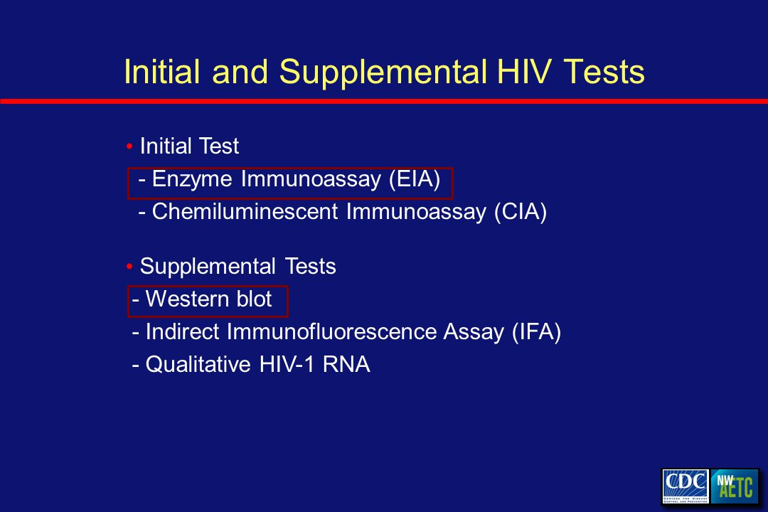 Specificity Probability that test is negative if person is not infected HIV Antibody Test: Specificity